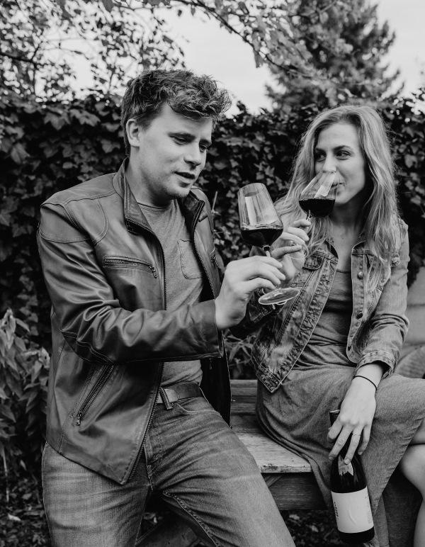 Gernot Zechmeister Melanie Zechmeister Weinverkostung