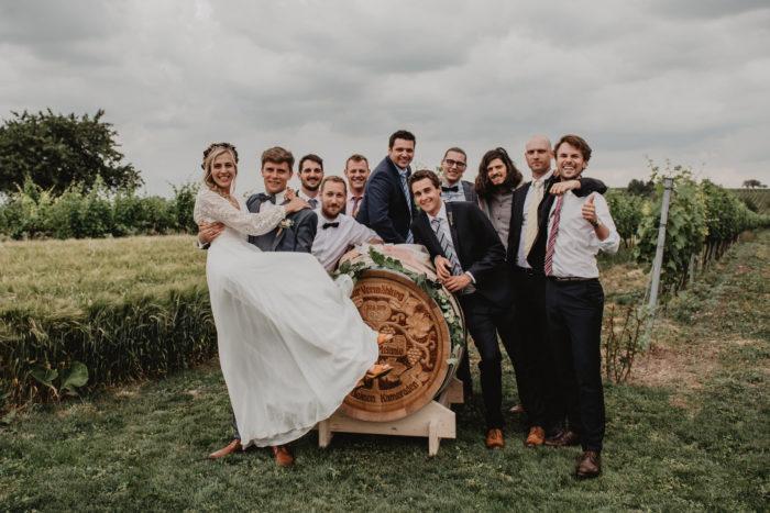 Kameradenfass Hochzeit Melanie und Gernot Zechmeister